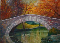 Gapstow Bridge, Central Park, New York