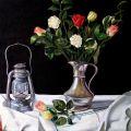 Lanterna e fiori