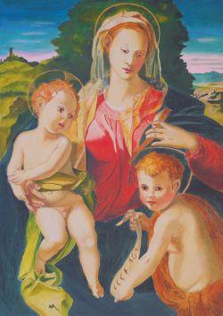Madonna col Bambino e San Giovannino