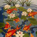 Pesci Rossi nello Stagno