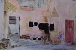 VECCHIO CORTILE (Ruffano)   (Anno 1992)