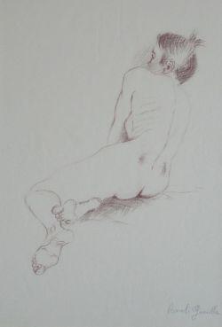 Nudo di spalle 2