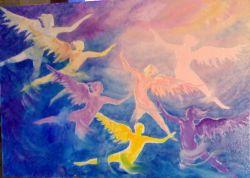 Dove osano la Danza i Sette Angeli del Dono della Libertà
