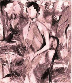 Ritratto  in giardino - 1956