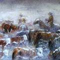 Mandria, neve e tormenta ....! - Vita da Cowboy - 2005