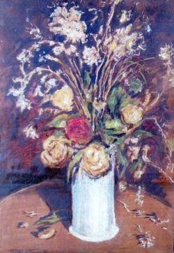Naturamorta con fiori