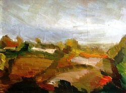 ''Paesaggio della Bassa Bolognese - 1956