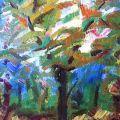 ''Rifiorito in Primavera'' -  70x95-olio su tela- Bologna 1956 -