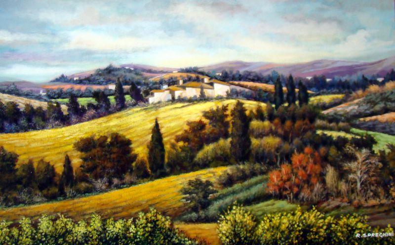 Awesome Quadri Paesaggi Toscani Contemporary - Schneefreunde.com ...