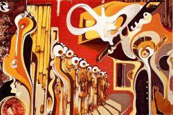 Direttore d orchestra opera d arte di sergio mura rossi
