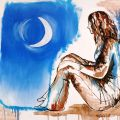 Io e la luna