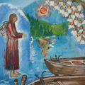 L' angelo e le barche