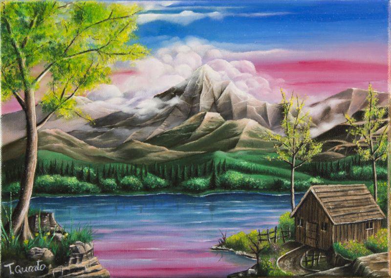 Paesaggio 5 Opera D Arte Di Teodoro Quarto