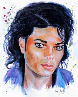Ritratto Michael Jackson