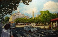 Paris-Place du Chatelet