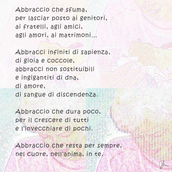 abbastanza abbraccio di nonna - poesia - Opera d'arte di ENrico NC32