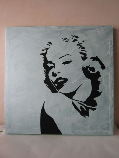 Marilyn Monroe - Opera d\'arte di thesara