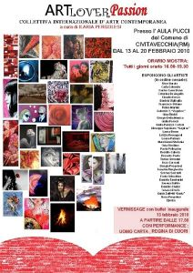 Art lover passion - collettiva internazionale d'arte