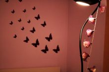 Butterflies in my room and in my mind