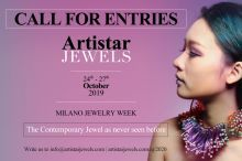 Call for entries - artistar jewels 2019 milano jewelry week