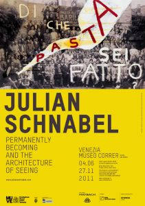 Julian schnabel permanently becoming and the architecture of seeing