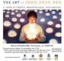 "Mostra ""the art of zhen, shan, ren"" a padova"