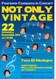 Not only vintage, spettacolo musicale