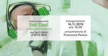 The time: mostra personale di gianluca carbone
