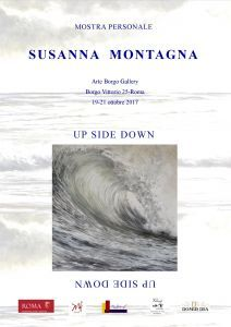 Up side down - mostra  personale di susanna montagna